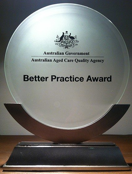 AACQA Better Practice Award