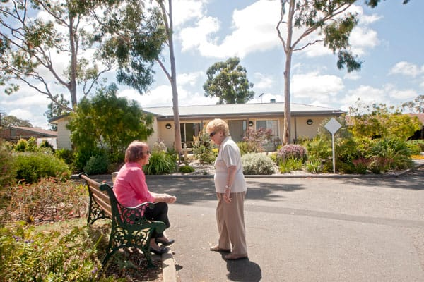 There is a friendly retirement community at Resthaven Bellevue Heights