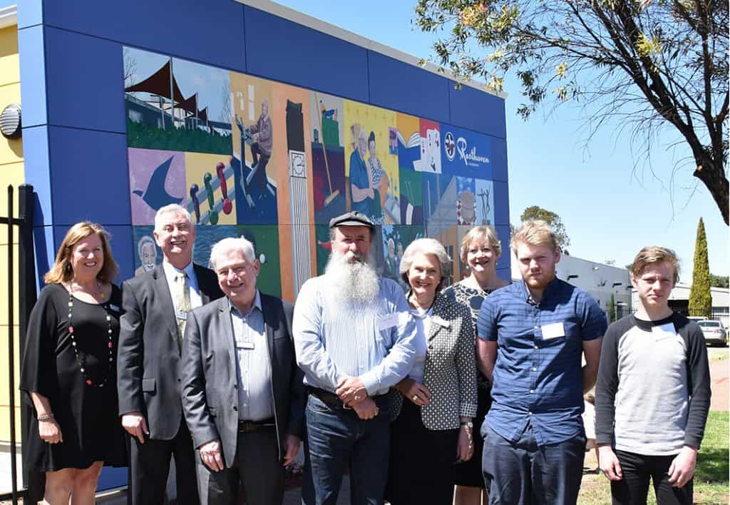 Community Mural and Building Expansion