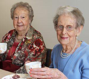 Port Elliot High Tea - Residents enjoy tea