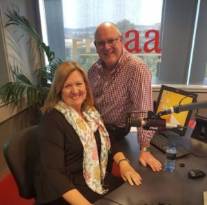 Lynn Openshaw Interactive Lounge with Alan Hickey