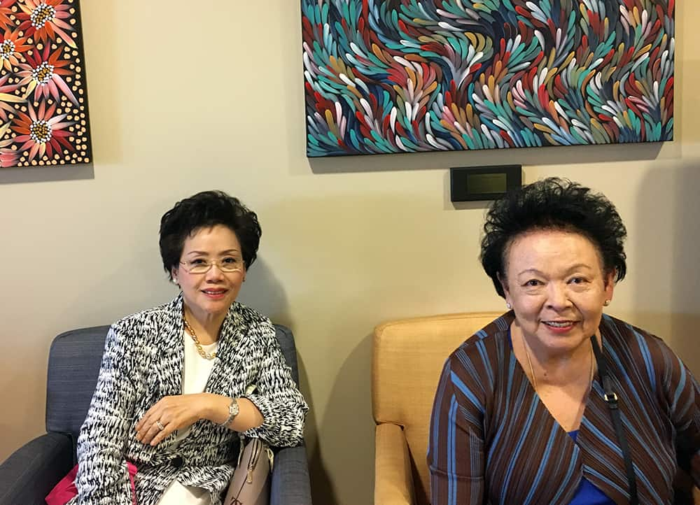 Dame Khunying Kobchitt Limpaphayom - international delegation visits marion