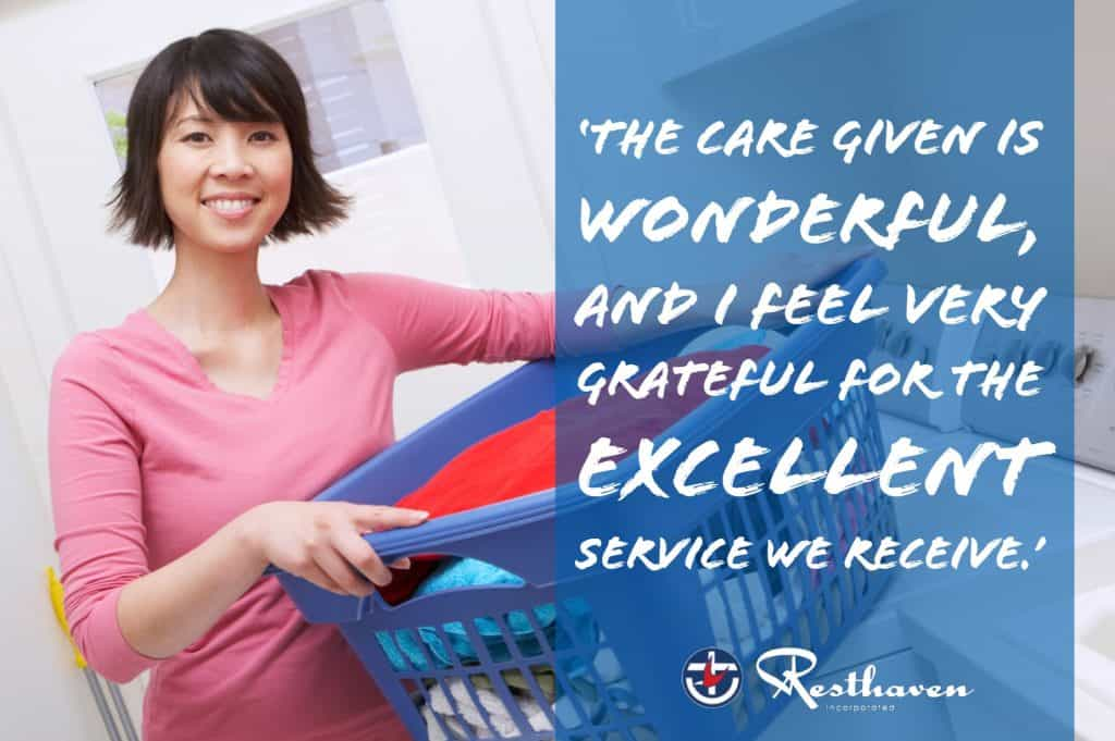 testimonial - in-home care Marion Community Services