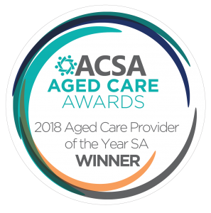 ACSA Award Win - SA Provider of the Year Winner logo from ACSA 2018