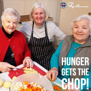 Hunger Gets the Chop | Aged Care Online - Resthaven