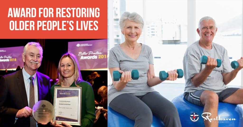 Award win for Restoring Older People's Lives