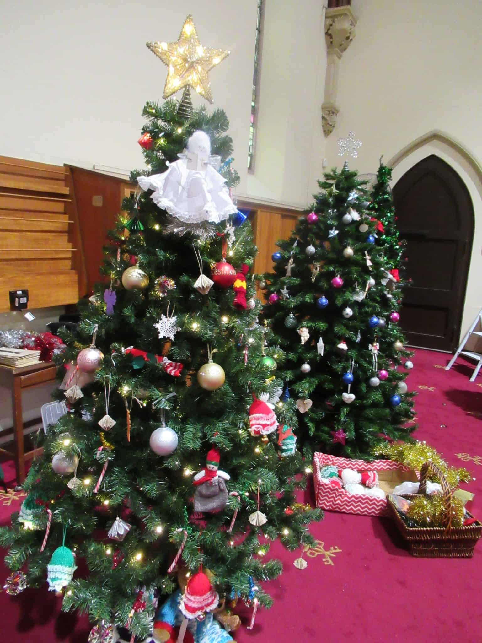 Christmas Tree Decorations For St Peters Anglican Church