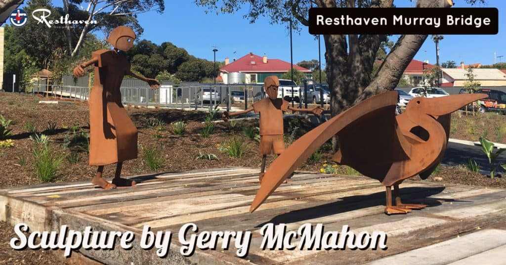 Resthaven Murray Bridge Sculpture by Gerry McMahon