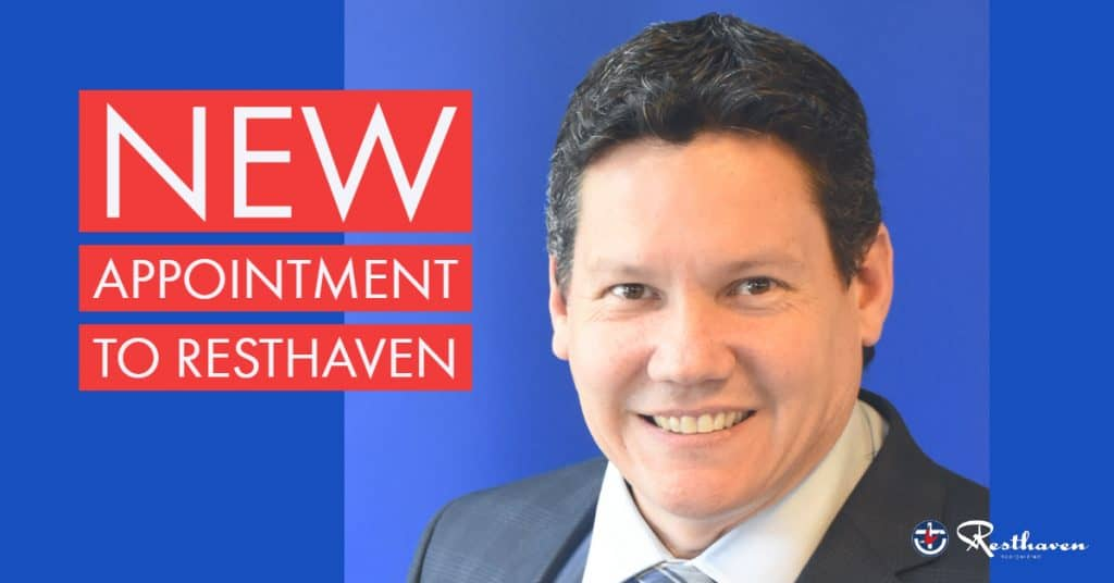 New appointment to Resthaven