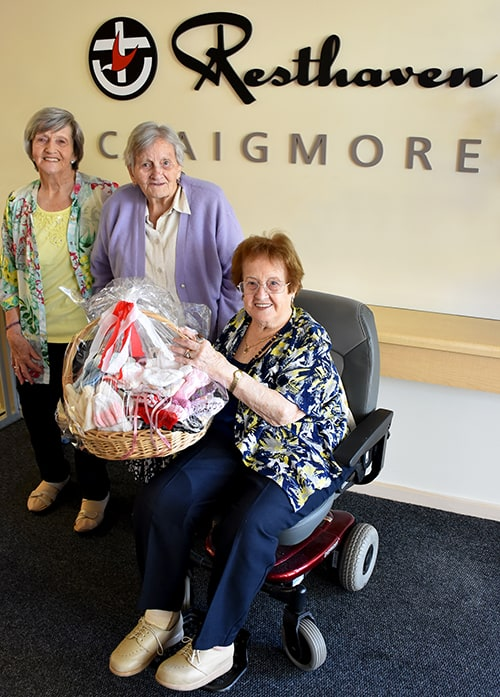 Ms Yvonne Clancy, Mrs Margaret Rush, and Mrs Patricia Uppington