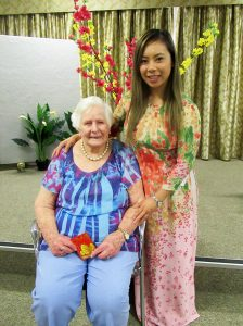 Thuy Pam with Yvonne Rose