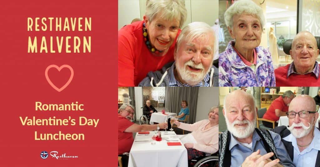 Resthaven Malvern Valentine's Day lunch hits the sweet spot