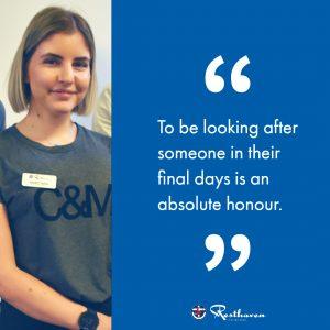 Resthaven Graduate Nurse Program Participant Ana - quote