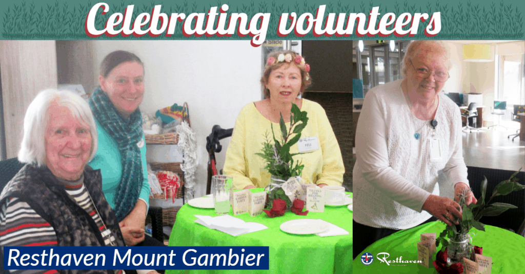 Resthaven Mount Gambier Volunteer Garden Party
