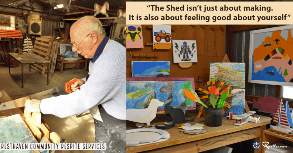 Discover The Shed at Community Respite Services
