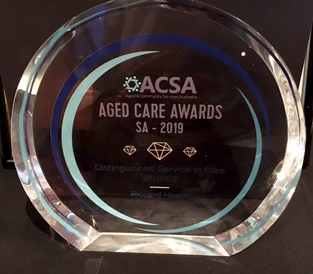 Resthaven CEO recognised at 2019 ACSA Awards - Resthaven