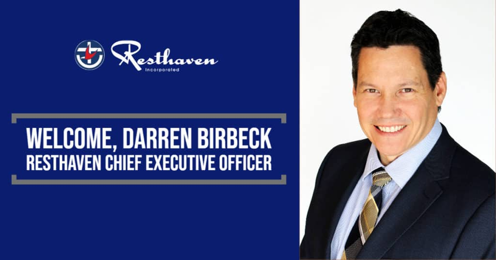 Welcome, CEO Darren Birbeck