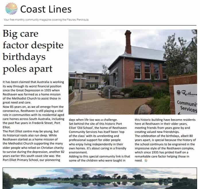Coast Lines article