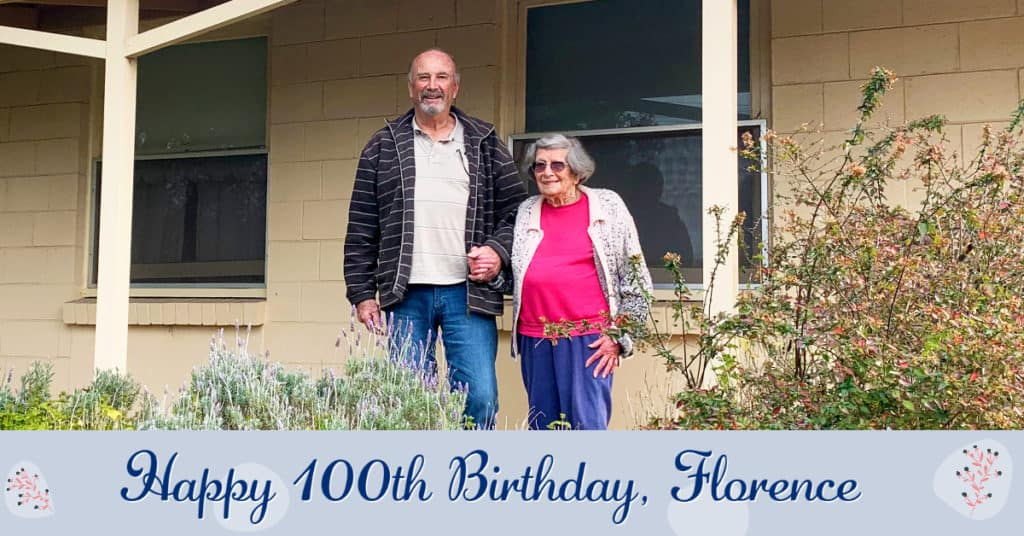 Happy 100th Birthday, Florence