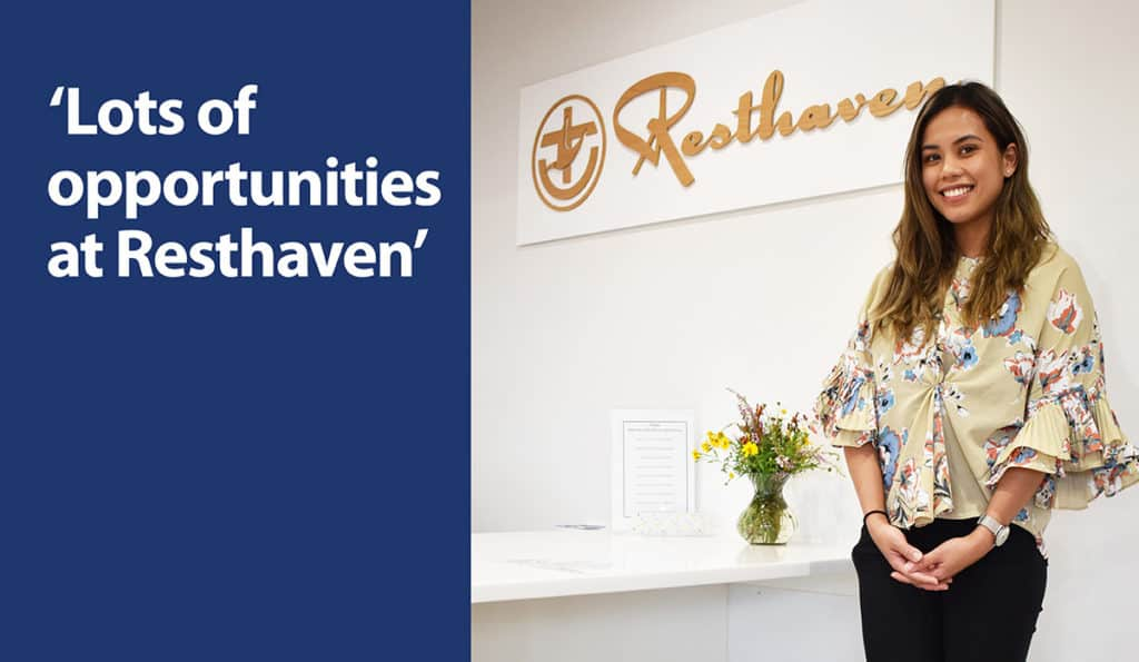'Lots of career opportunities at Resthaven'