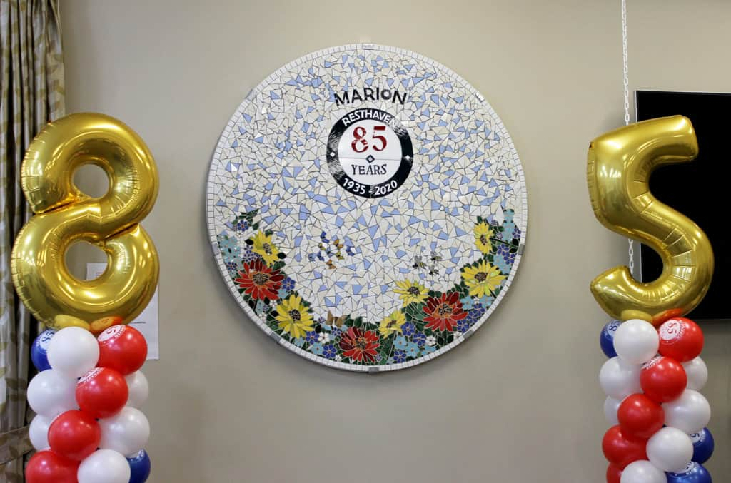 85th anniversary mosaic