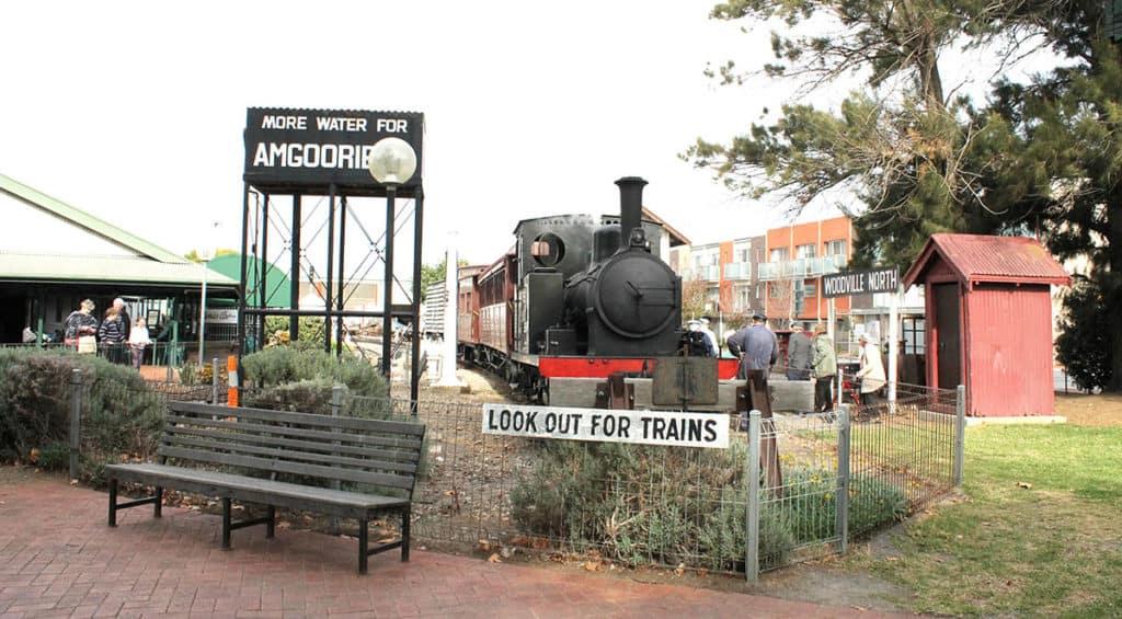 National Rail Museum Adelaide entrance