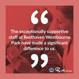 resthaven westbourne park testimonial