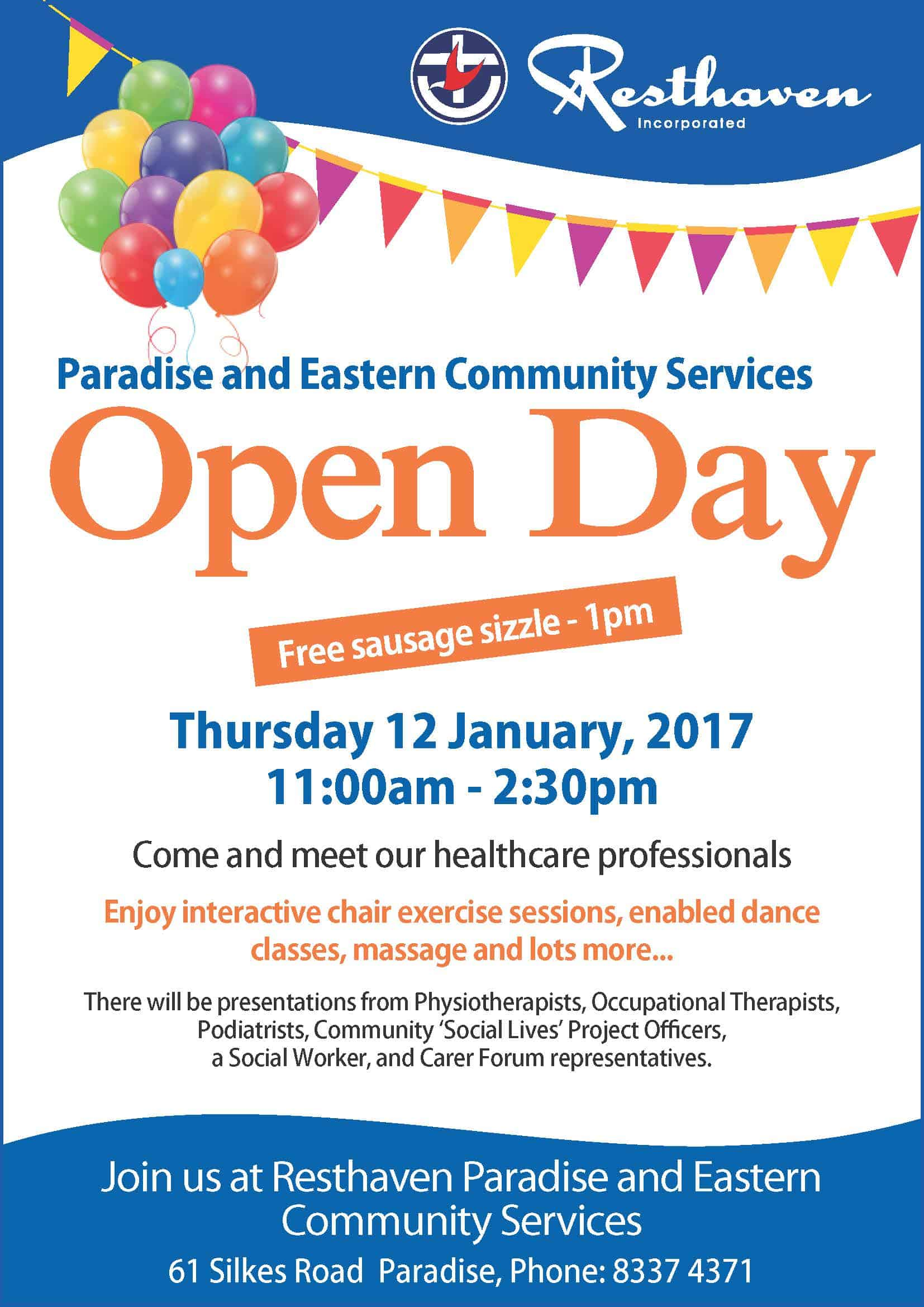 Design Your Own Home In Australia Paradise And Eastern Community Services Open Day Resthaven
