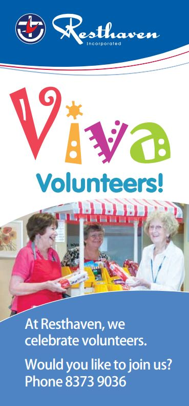 Volunteer brochure