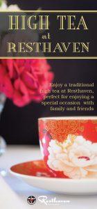 High Tea brochure